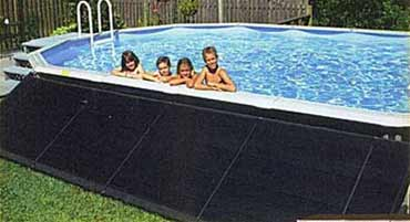 Above Ground Pool Solar Heater by Smart Pool
