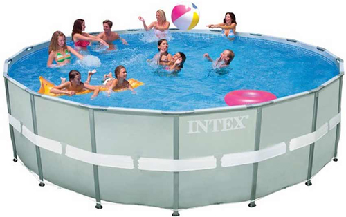 Intex Ultra Frame Above Ground Swimming Pool