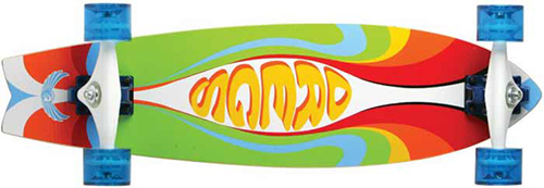 Dregs 30 Ecopoxy Fiberfish Skateboard