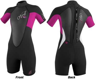 Oneill Bahia Short-Sleeve Spring Women's Wet Suit