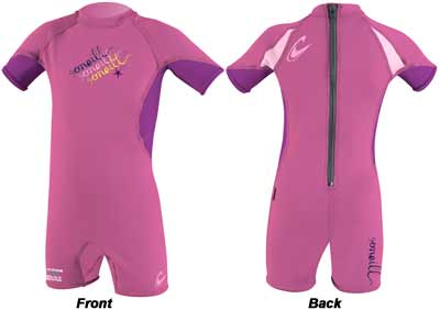 Oneill O'Zone Spring Toddler Wet Suit