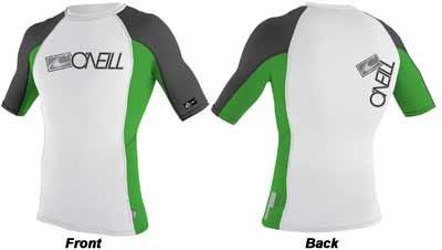Oneill Skins Short-Sleeve Crew Shirt