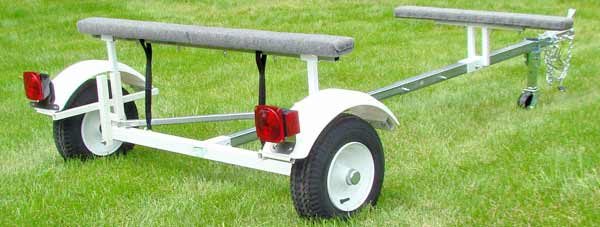 T1000 Single Canoe & Kayak Trailer