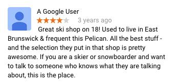 Pelican East Brunswick Review