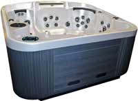 Coast Spas Curve Series Hot Tubs Journey Curve