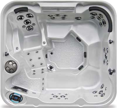 Coast Spas Journey Curve Hot Tub
