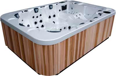 Coast Spas Mirage Hot Tub