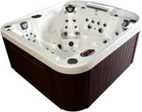 Coast Spas Curve Series Hot Tubs Radiance Curve Lounge
