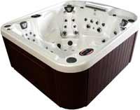 Coast Spas Curve Series Hot Tubs Radiance Curve Lounge