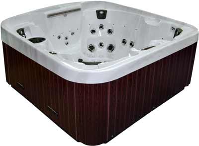 Coast Spas Zenith Curve Hot Tub