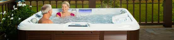 Sundance Spas at the Pelican Hot Tub Shops in NJ & PA