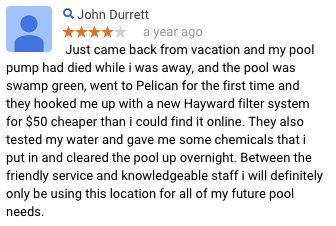 Pelican Quakertown PA Review