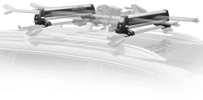 Thule Car Rack 92724 Universal Flat Top
