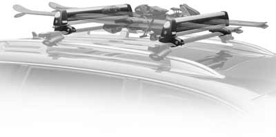 Thule Car Rack 92725 Universal Flat Top