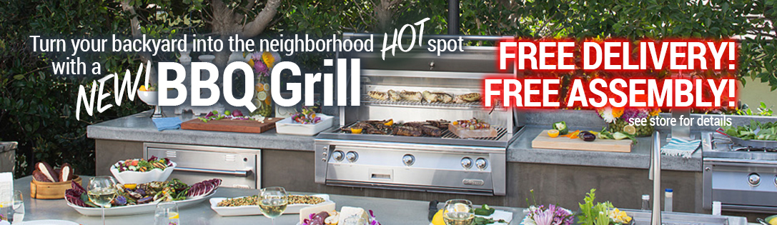 BBQ Grills, Outdoor Kitchens and Accessories
