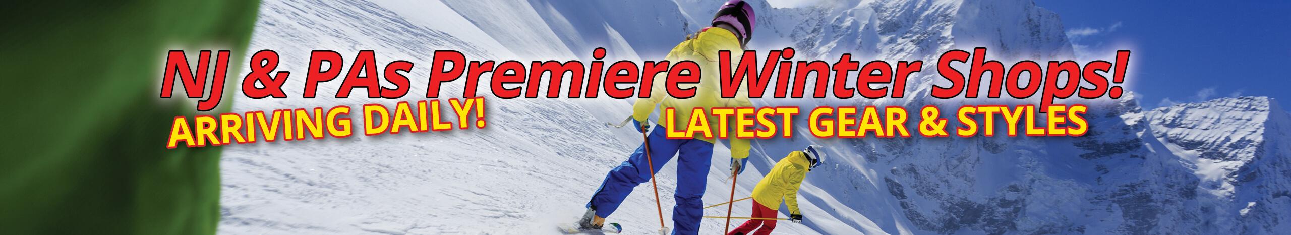 New Men's & Women's Skis & Winter Gear