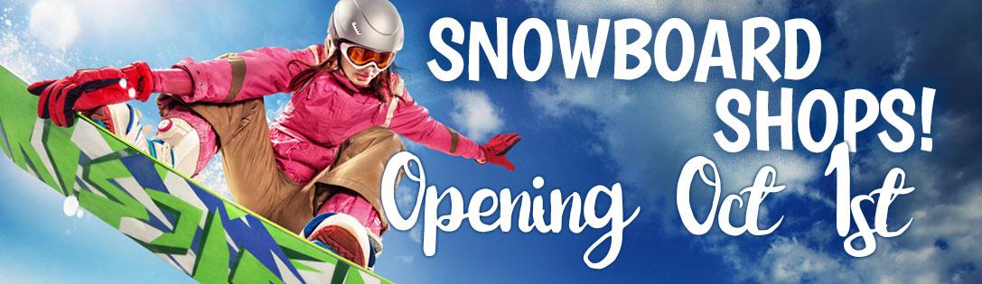 Pelican Snowboard Shops Opening