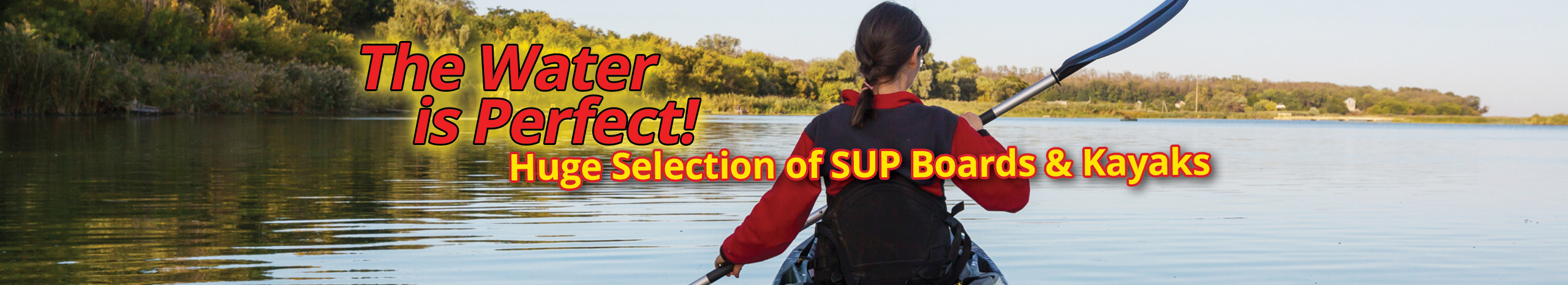 Stand Up Paddleboards & Kayaks Stores