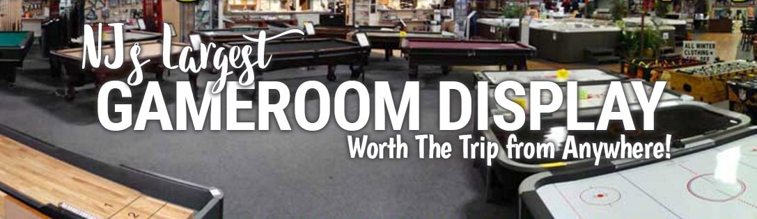 NJ Largest Pool Table, Rec Room and Man Cave Game Dealer