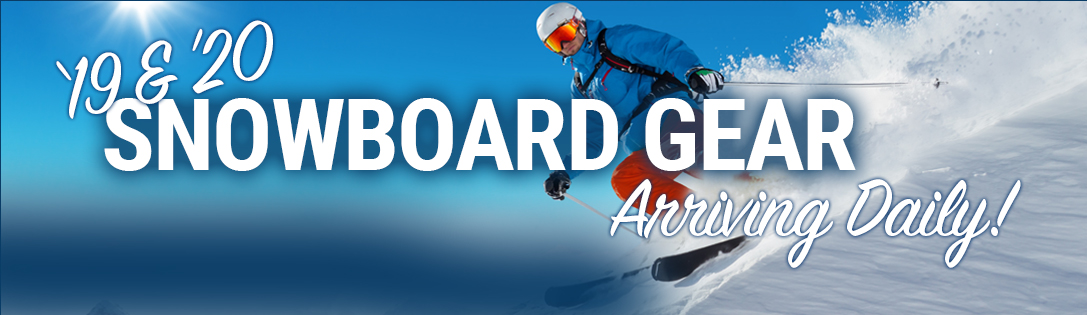 New Snowboards & Winter Gear