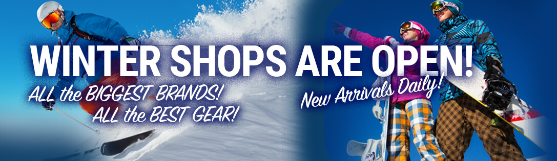 New Men's & Women's Skis & Winter Gear