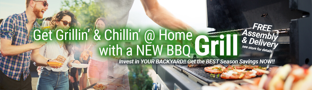 New BBQ Grills & Outdoor Kitchens on Sale